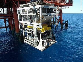 ROV from Rig