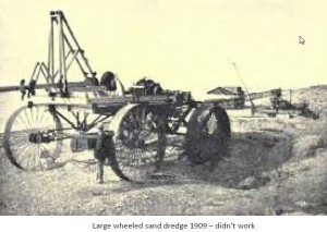 Early Gold Dredge