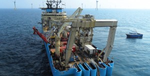 "DeepOcean ""Recorder"" IMR trenching vessel"